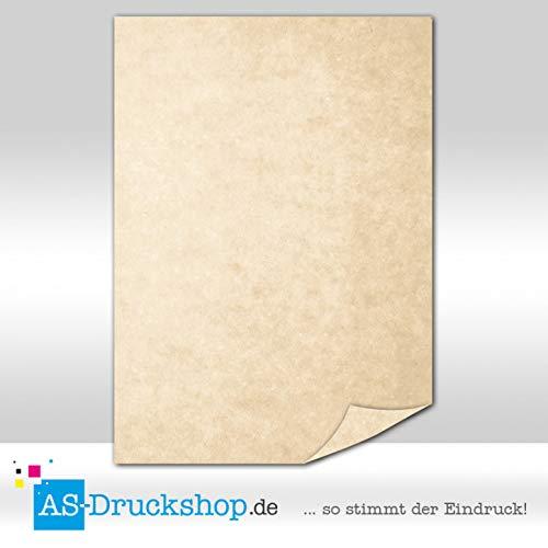 Papiro/pergamena–marrone sabbia/50fogli/din a5/carta offset 150g