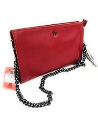 YNOT  RED Shopping BORSA Donna CON MANICI SAF14 f482bdeb960