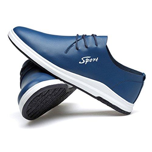 XTIAN - Scarpe Basse Stringate Uomo Blau