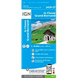 IGN La Clusaz/Grand-Bornand - Carte topographique