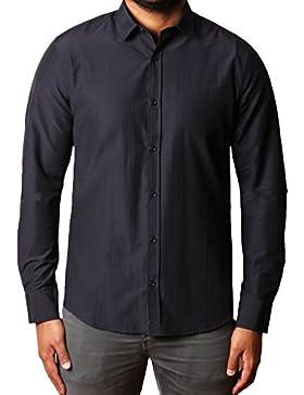 Threadbare -  Camicia Casual  - Classico  - Maniche lunghe  - Uomo