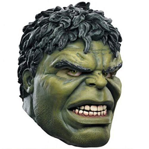 Avengers Hulk Adult Latex Maske Cosplay Kostüme Masken Voller Gesicht Helm - Hulk Avengers Kostüm
