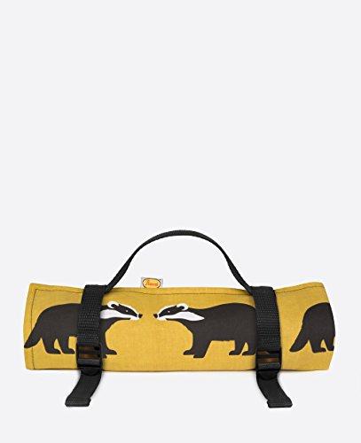 Anorak Kissing Badgers Picnic Blanket