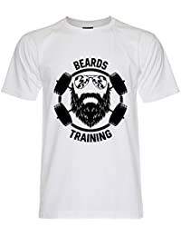 PALLAS Unisex's Beard Training Funny T-Shirt