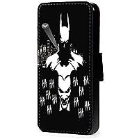 Batman Joker Fanart se, cartera de piel sintética para teléfono móvil para iphone 45C 6s A3A5J3J5S7S6S5S4S3M8M9G4G3, Samsung Galaxy S8 Plus