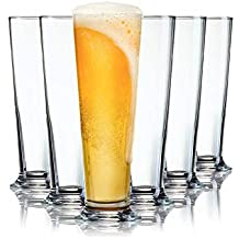 Tivoli Vasos de Cerveza Bern - 400 ML - Set de 6- Vasos Apto para