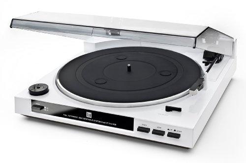 Dual DT 210 USB Schallplattenspieler mit Digitalisierungsfunktion, weiß - 2