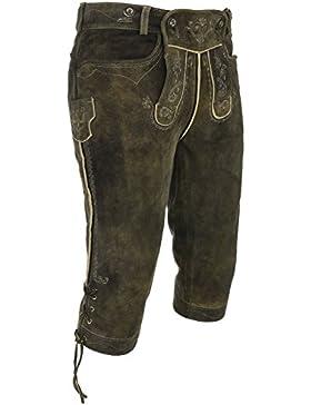 Michaelax-Fashion-Trade Spieth & Wensky - Herren Trachten Lederhose Alexander (240496-0613)