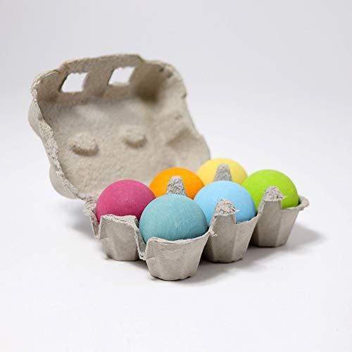 6 bolas de colores Grimm's, Farbe:Pastell