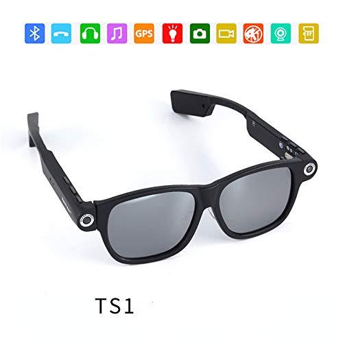 RENYAYA Video-Aufzeichnung Sonnenbrille Spion Smart Camera Shooting 720P Outdoor Sports High-Definition-Support-Glasuren unterstützen eine Vielzahl von Spezifikationen der Sinne,TS1 Portable Dvr