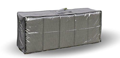 UrbanDesign Auflagentasche Auflagen-Box Kissenbox Schutztasche für Sitzpolster Tasche für Gartenmöbelauflagen Kissen
