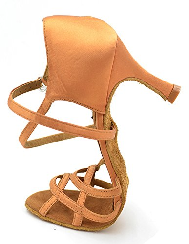 TDA , Peep-Toe femme 7.5cm Brown