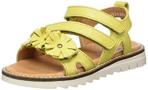 FRODDO Froddo Girls Sandal G3150095-4, Sandales  Bout ouvert fille Gelb (Yellow)