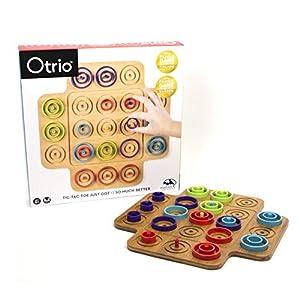 Spin Master Otrio (Wood) Juego de Mesa de Aprendizaje Niños - Juego de Tablero (Juego de Mesa de Aprendizaje, Niños, Niño/niña, 6 año(s), Interior, China)