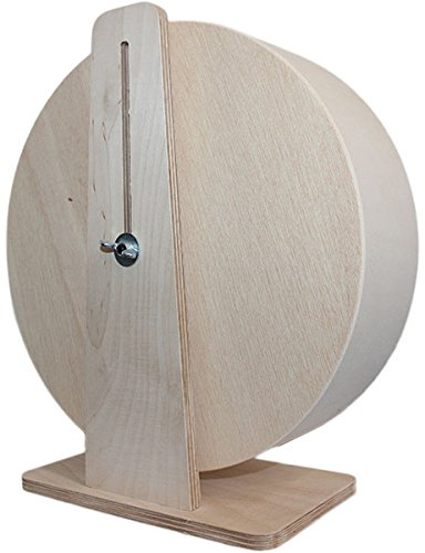Ø 25 cm Getzoo Premium Korklaufrad (Höhe 29-40 cm) -