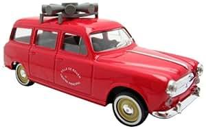 Majorette - Voiture miniature - Peugeot 403 break - Ville de Rouen - Véhicule diffusion d'alerte