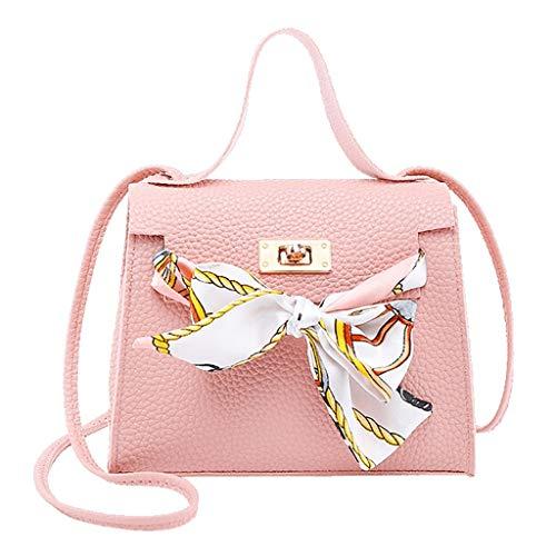 Cooljun Art- und Weisedame Shoulders Bag Handbag Letter Purse Handy Kuriertasche für Spielraum/Geschäft/Hochschule