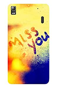 High Quality Printed Designer Back Cover For LENOVO K3 NOTE