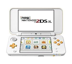 New 2DS XL Console, Bianco + Arancione