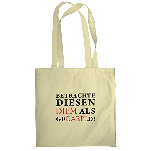 Texlab–Diem gecarped–sacchetto di stoffa Naturale