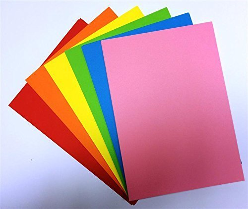 DALTON MANOR 160gsm A4 RAINBOW CARD PACKS 50/60/0R 70 SHEET PACKS (60 SHEET PACK)