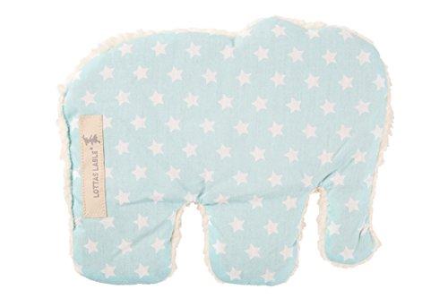 LOTTAS LABLE 3137-51 Wärmekissen Elefant Star mint