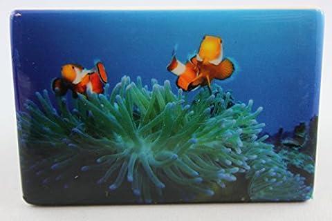 Clown En Porcelaine - Corn elißen–1023653–Aimant, poisson clown, Porcelaine, 7,5cm x