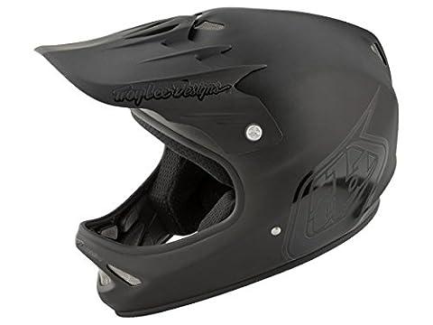Troy Lee Designs Downhill-MTB Helm D2 Schwarz Gr. XS/S