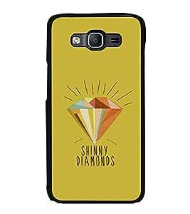 Printvisa Ultra Diamond Clipart 2D Hard Polycarbonate Designer Back Case Cover for Samsung Ga...