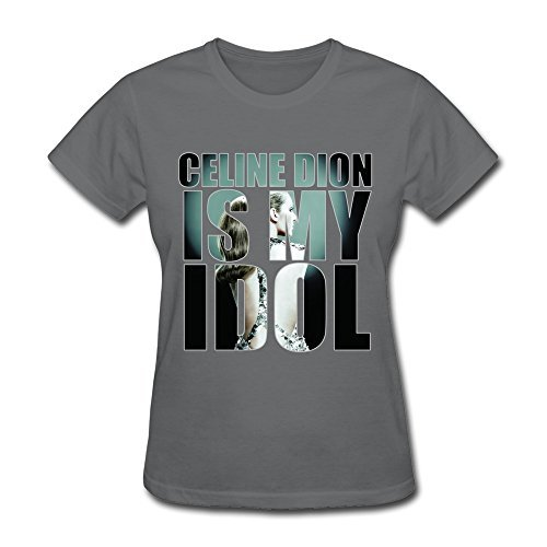 eline Dion Tee Shirts For Women [L] ()