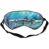 Fantasy Unterwasser-Steampunk-U-Boot Nautilus Ocean Augenschutz Unisex Ultimate Schlafhilfe Augenschutz preisvergleich bei billige-tabletten.eu