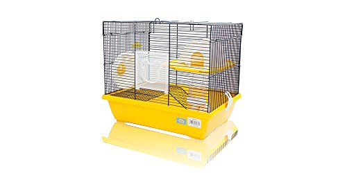 Cage pour hamster 43 x 31 x 37 cm.