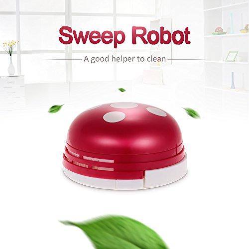 Roboter Bodenreiniger (Goolsky Sweep Robot Automatische Bodenreiniger Intelligente Karikatur Fegen Roboter Mini Sauberer Roboter)