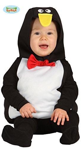 Kostüm Pinguin Otto Gr. 62-68 Baby Kurzoverall Kinderfasching Tierkostüm Eiszeit