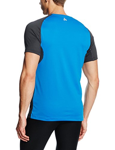 Odlo Herren T-shirt Short Sleeve VIRGO directoire blue/Graphite grey