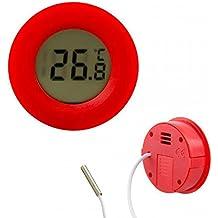 Thermomètre numérique pour coller. Capteur étanche