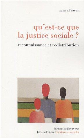 QU'EST-CE QUE JUSTICE SOCIALE