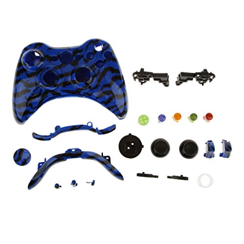 Ersatzfall Gehäuse Case Hülle Shell Taste Kit für Xbox 360 Controller - #8 (360-controller Shell Und Xbox)