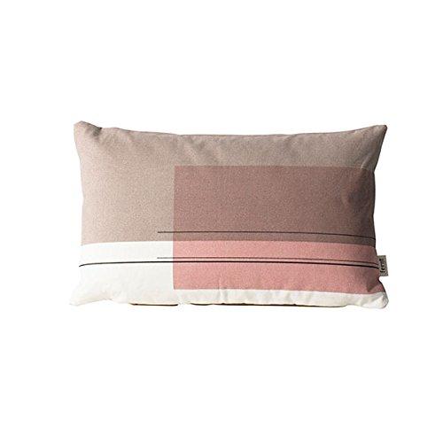 Ferm Living - Kissen Colour Block 4 100 % Biobaumwolle 40 x 25 cm