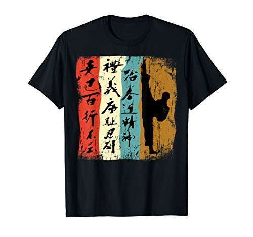 Taekwondo Kampfsport Geschenk T-Shirt Retro Vintage -