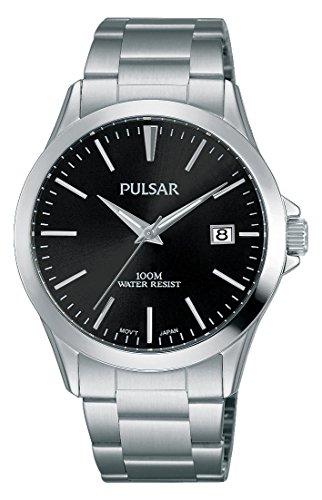 PULSAR reloj para hombre modelo TRADITION negro y plateado-ps9451 x 1