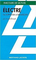 ELECTRE - GIRAUDOUX-PARCOURS DE LECTURE