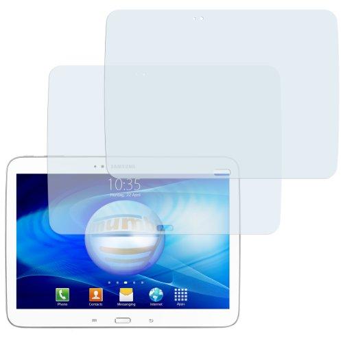 2x mumbi Displayschutzfolie für Samsung Galaxy Tab 3 (10,1 Zoll) Schutzfolie