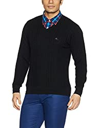 Monte Carlo Mens Wool Sweater (1173103VN-118_Black_42)
