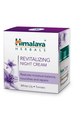 K6 Skin Care Himalaya Herbals revitalisant Crème de nuit 50 ml Bateau Monde