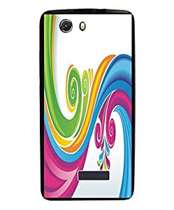 Techno Gadgets Back Cover for Micromax Canvas Mega E353