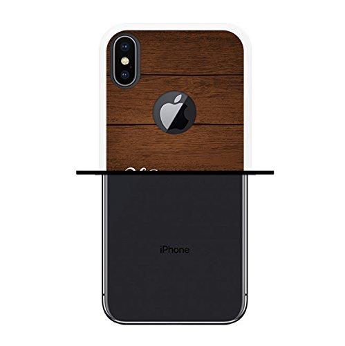 iPhone X Hülle, WoowCase Handyhülle Silikon für [ iPhone X ] Alien Warning Handytasche Handy Cover Case Schutzhülle Flexible TPU - Transparent Housse Gel iPhone X Transparent D0165