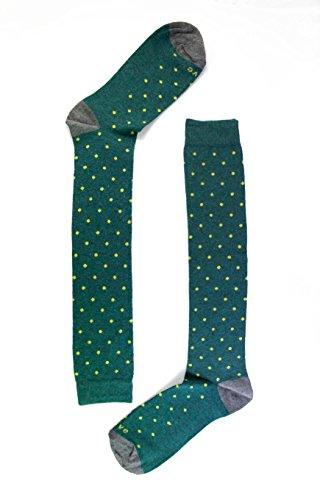 Naive SMART12L, Calcetines altos para Mujer, (Verde 12), 36/41 (Tamaño del fabricante:M)