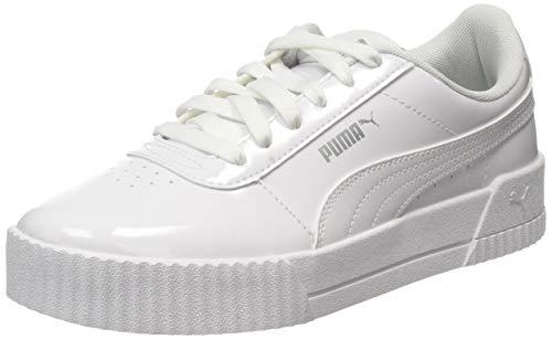 Puma Damen Carina P Sneaker, Weiß (Puma White-Puma White 02),  40 EU (6.5 UK)