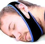 Mentonnière anti-ronflements et anti-apnées HaoYiShang Masque pour arrêter les ronflements, l'apnée et les insomnies.